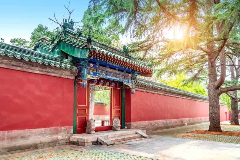 Древние здания в Пекине стоковое фото
