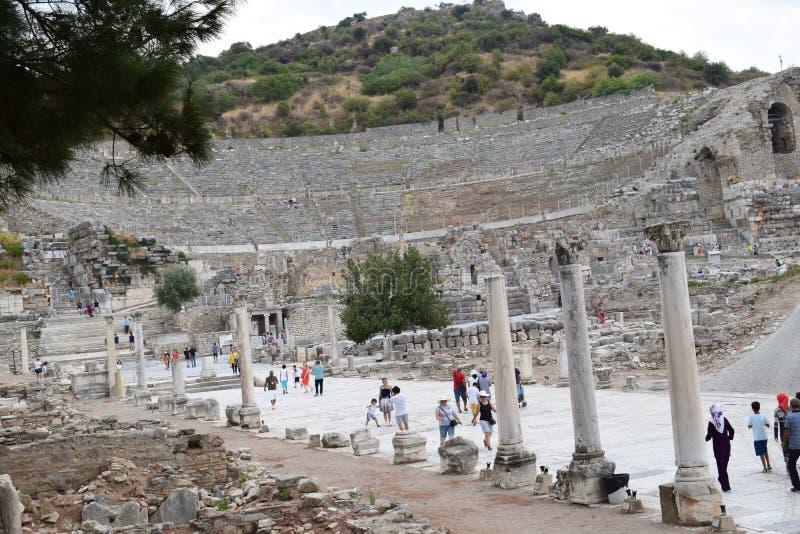 древний город ephesus стоковые изображения rf