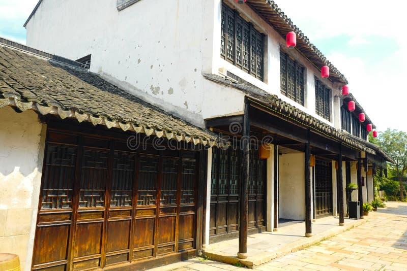 Древний город Xuntang стоковое изображение