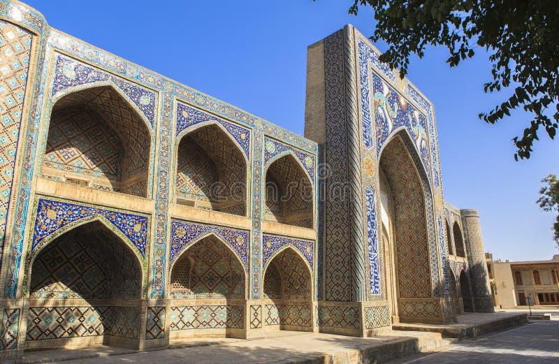 Древний город Бухары в Узбекистане стоковое изображение
