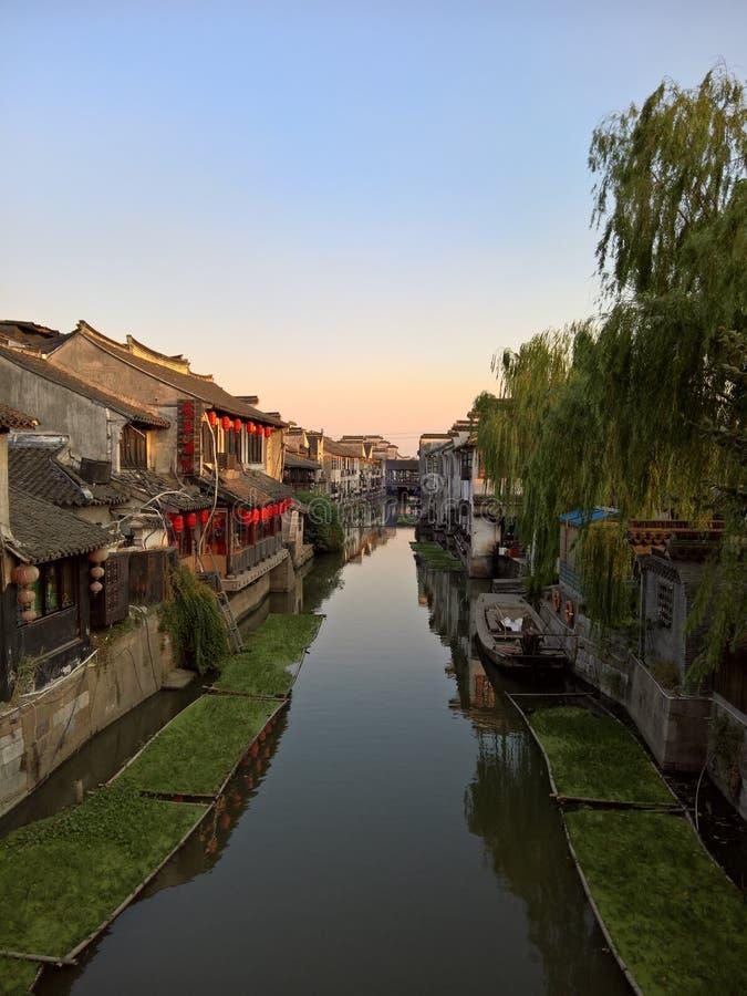 Древний город Китай Xitang стоковые изображения rf
