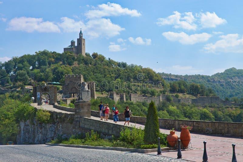 Древний город Veliko Tyrnovo bulbed стоковое фото
