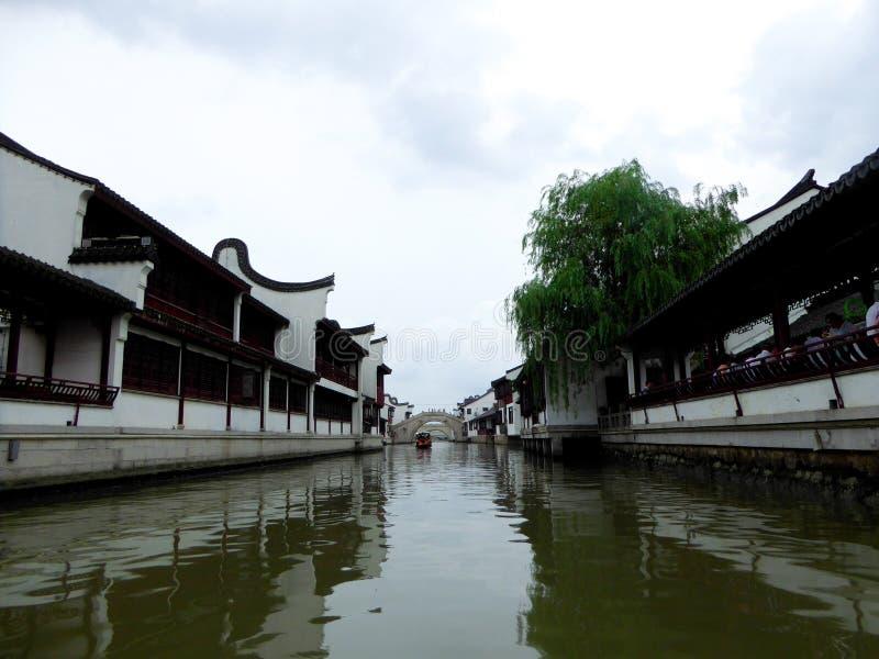 Древний город Zhaojialou стоковое фото