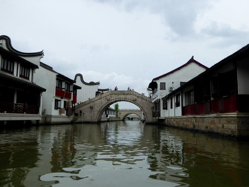 Древний город Zhaojialou стоковые фото
