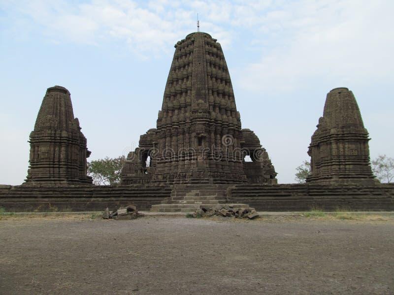 Древний храм Gondeshwar стоковое фото