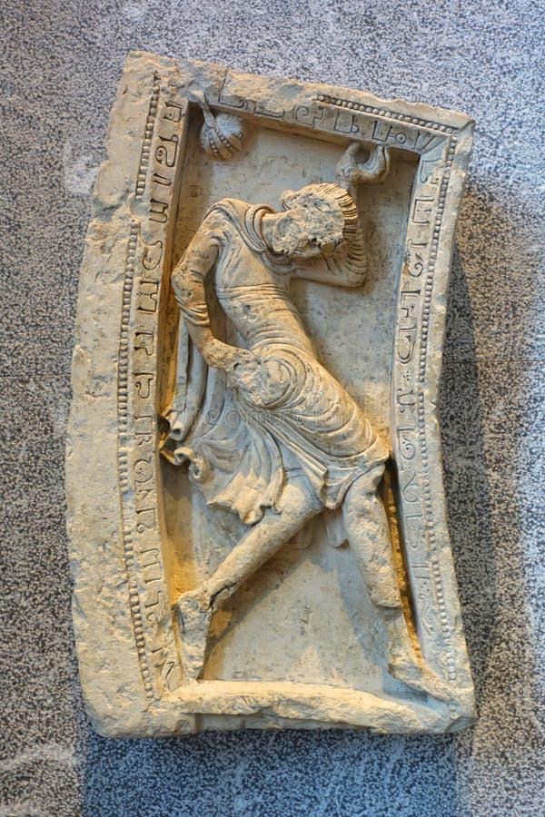 Древняя древность загнана в ловушку стоковые фотографии rf