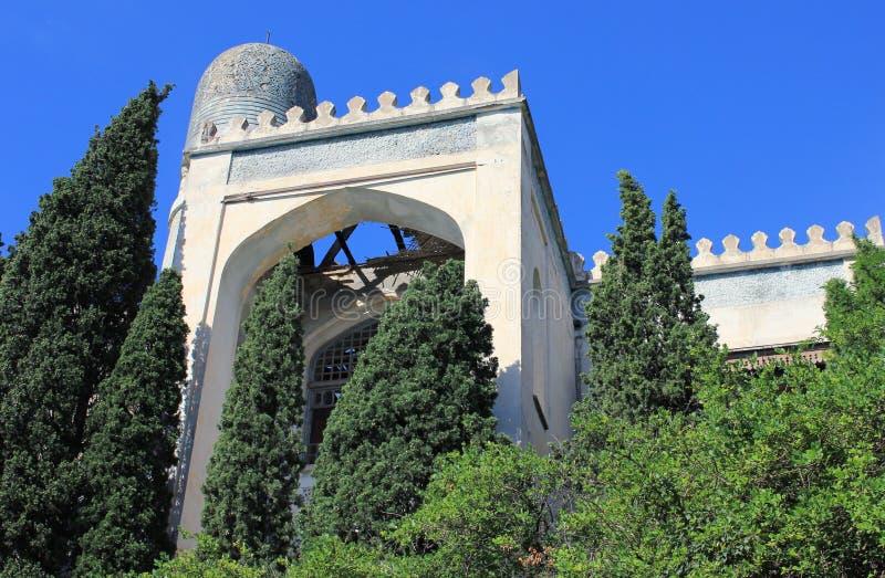 Древняя крепость Крым стоковые изображения