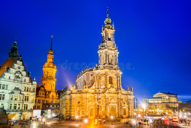 Дрезден, Саксония, Германия стоковая фотография