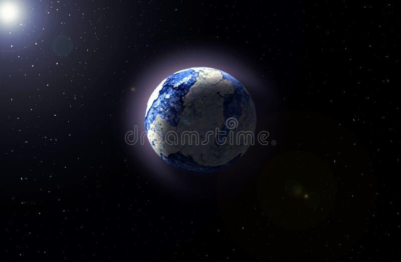 другая планета иллюстрация штока
