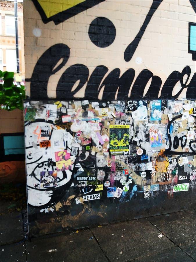 Другая стена, другой холст стоковая фотография rf