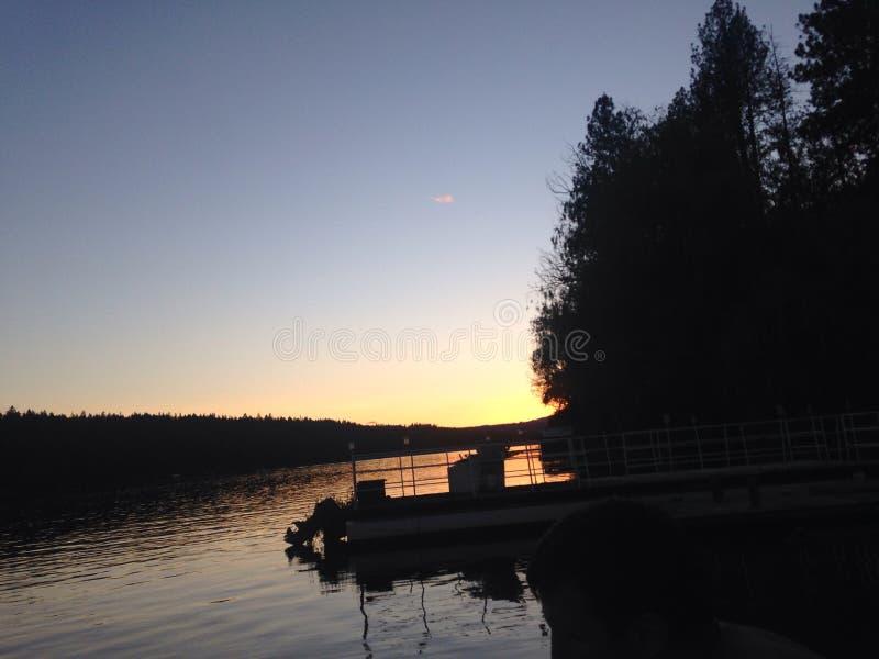 Другое изображение озера стоковая фотография rf