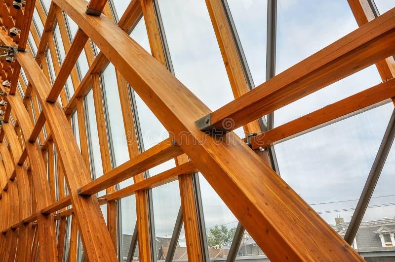Другой взгляд Galleria Италии - ТОМУ НАЗАД, Торонто, Канада стоковое фото