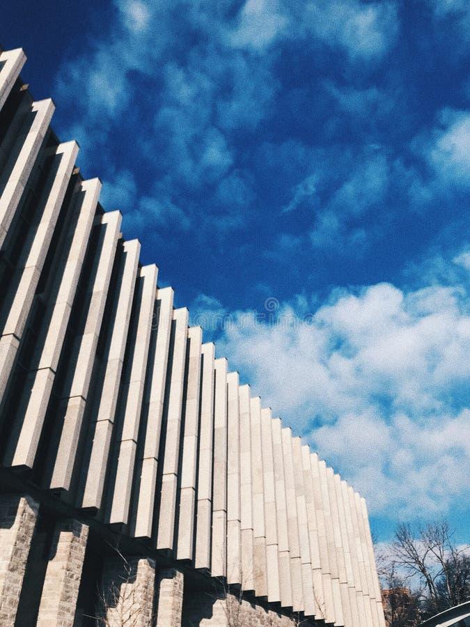 Другой день вокруг u кампусов t стоковая фотография rf