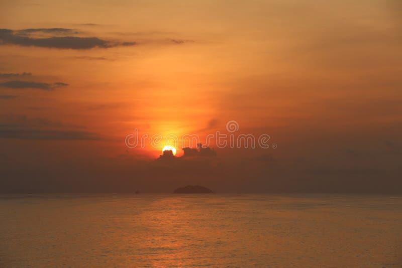 другой заход солнца стоковое изображение