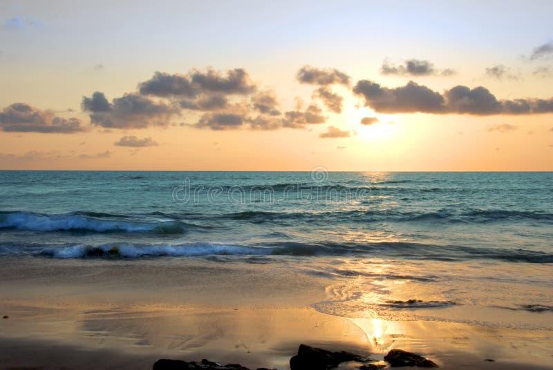другой заход солнца Costa Rica стоковое фото