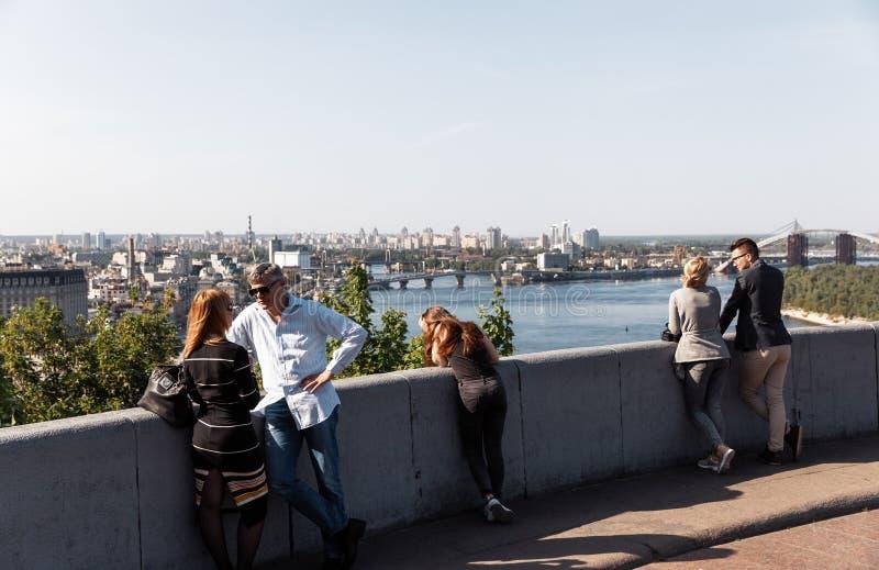 Дружба народов платформы замечания в Киеве стоковая фотография