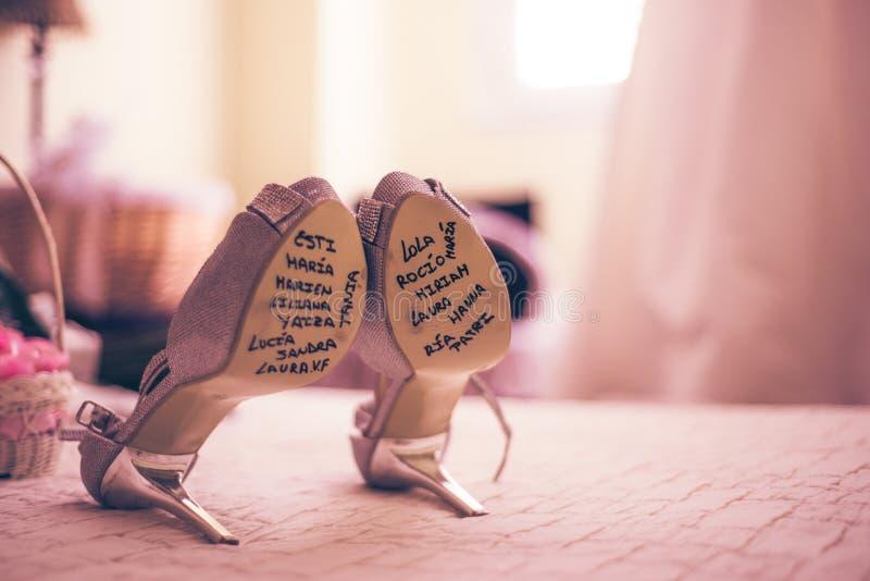 Друзья невесты стоковое изображение