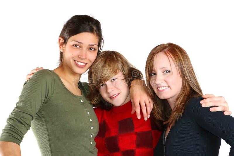 друзья подростковые стоковое фото rf