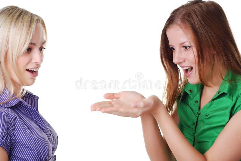 друзья 2 стоковые изображения rf