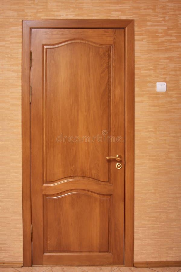 дуб двери деревянный стоковые изображения rf