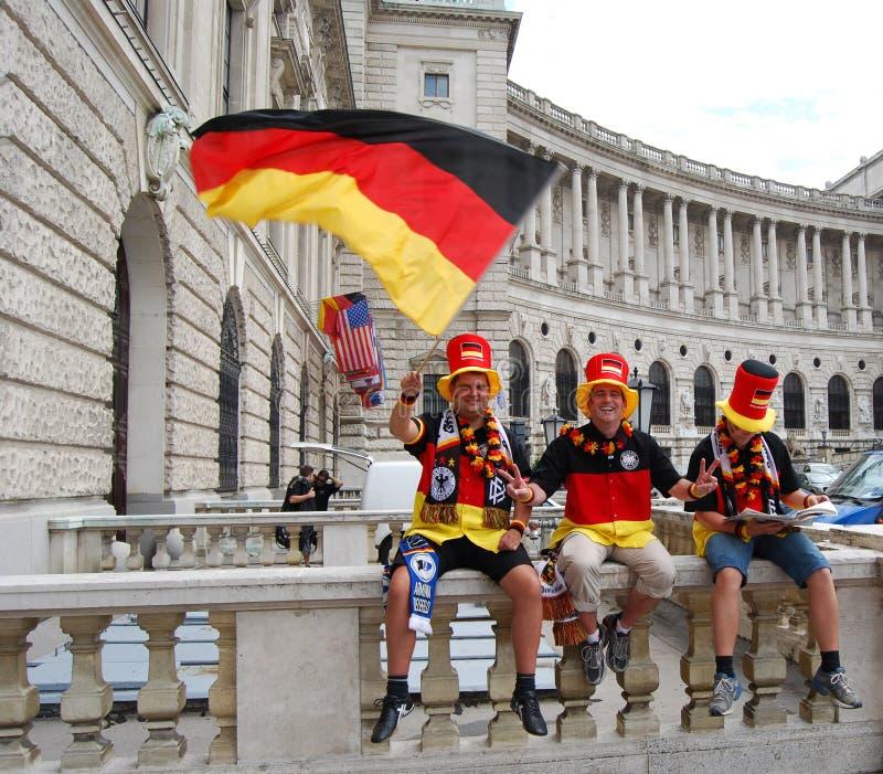 дует команду футбола футбола немецкую стоковые фотографии rf
