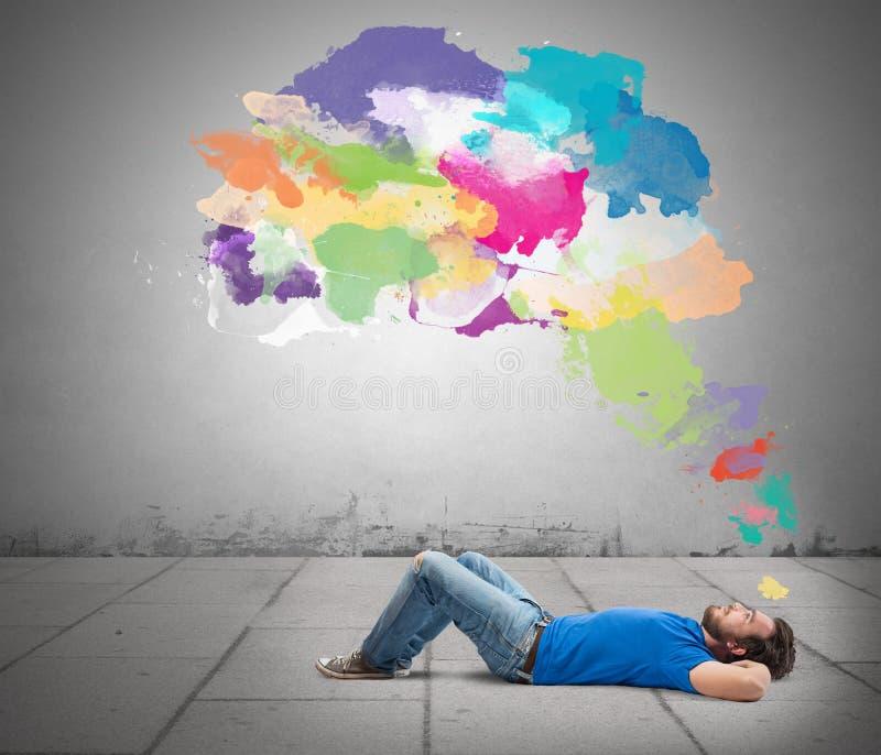 Думайте творческое стоковые фотографии rf