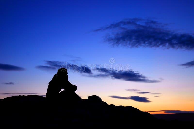 Download думайте стоковое фото. изображение насчитывающей sunset - 490876