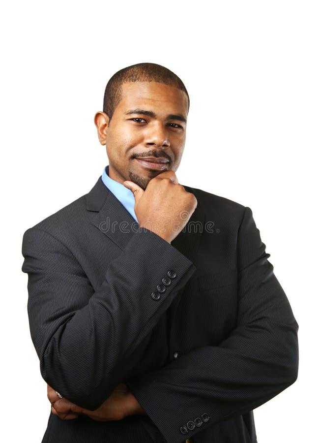 думать бизнесмена стоковые фото