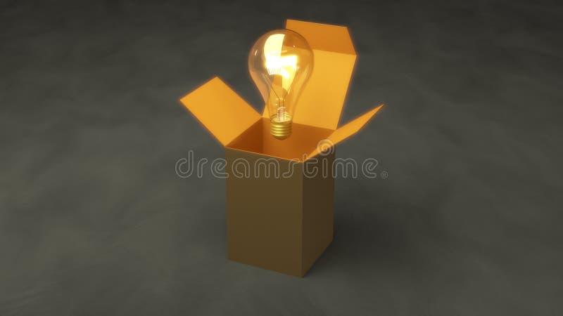Думать из коробки 10a стоковые фото
