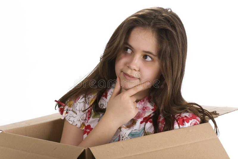 думать коробки внешний стоковая фотография rf