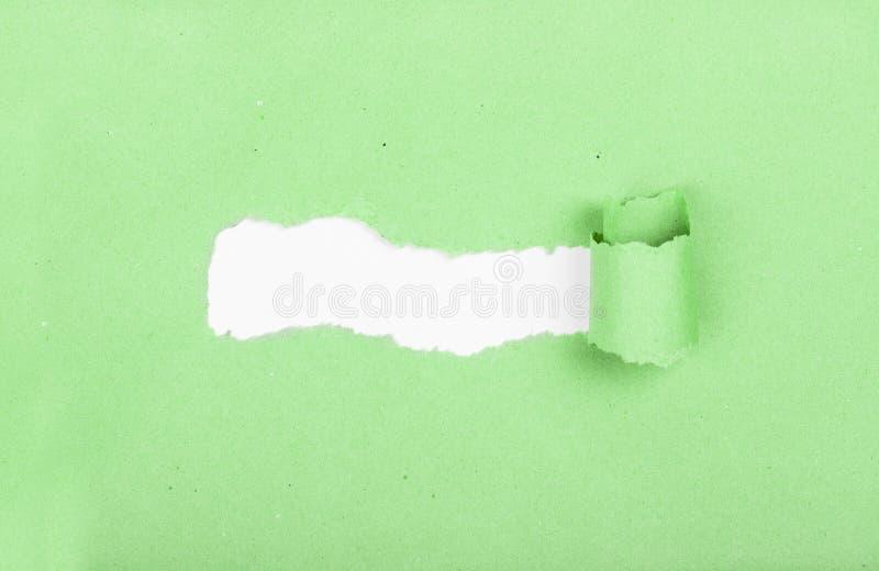 думать коробки внешний lacerated сорванные прокладки бумажной прокладки Идея и новое нововведение Ломать новое основание установь стоковое изображение rf