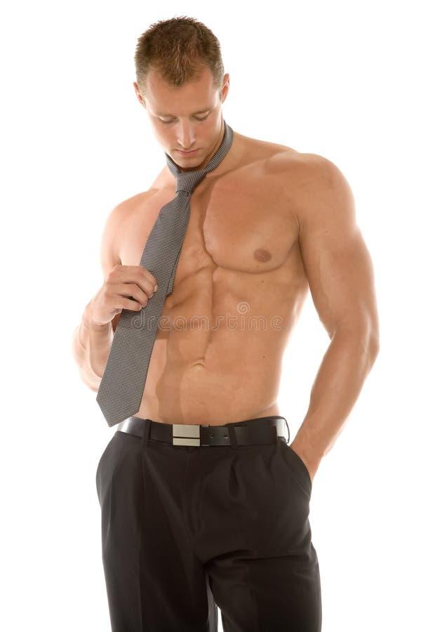 думать человека сексуальный стоковое изображение rf