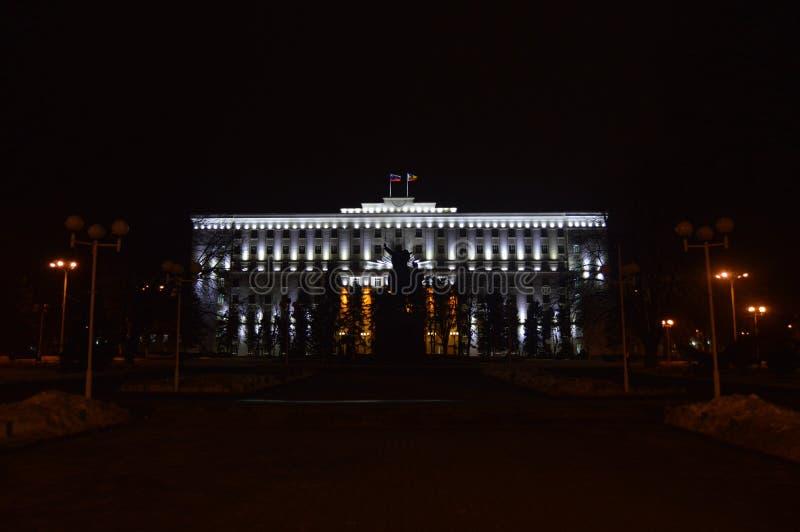 Дума города Ростова стоковая фотография