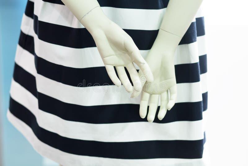 Думмичные пластичные руки стоковые изображения