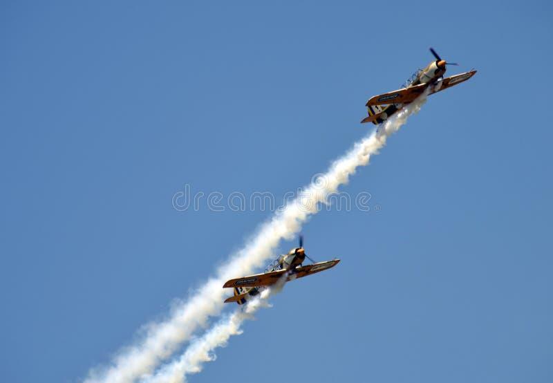 Дуо Бухарест воздуха стоковые фотографии rf
