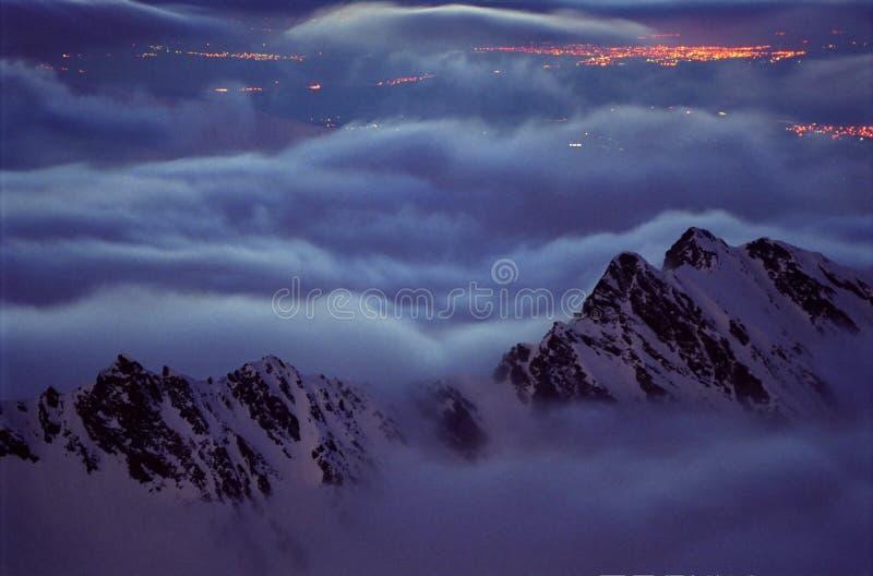 духи горы стоковое изображение rf