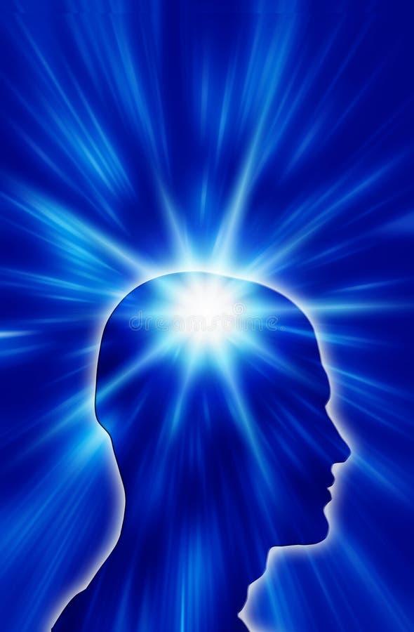 духовность человека иллюстрация вектора