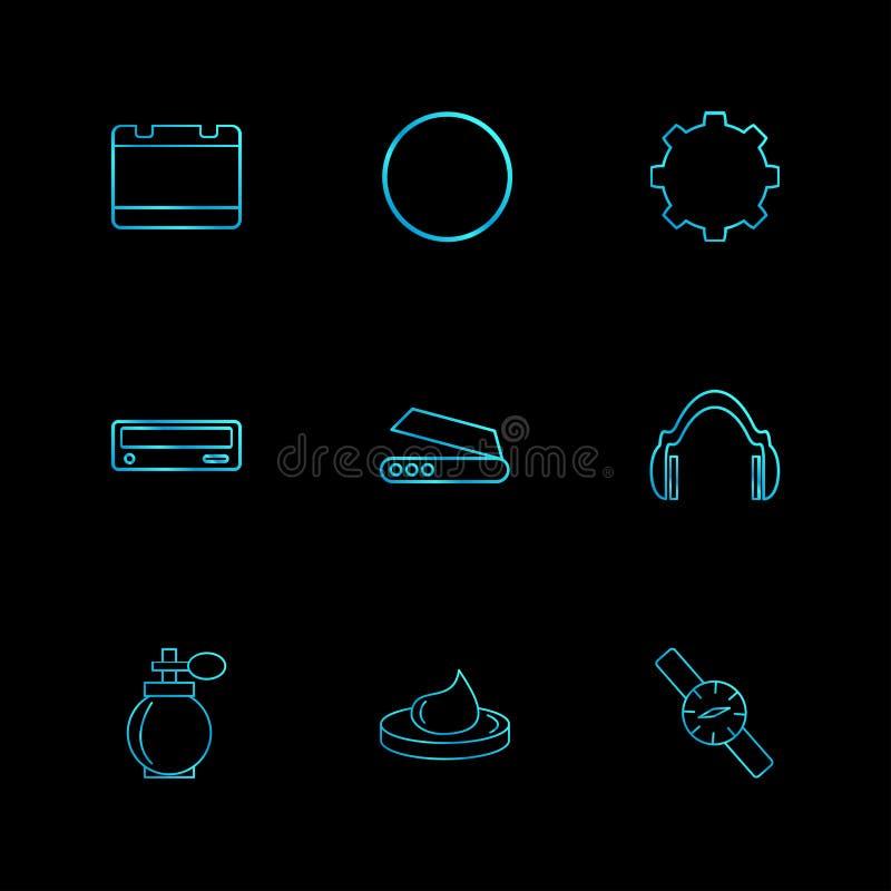 дух, вахта, шлемофон, интернет, технология, оборудование, s иллюстрация вектора