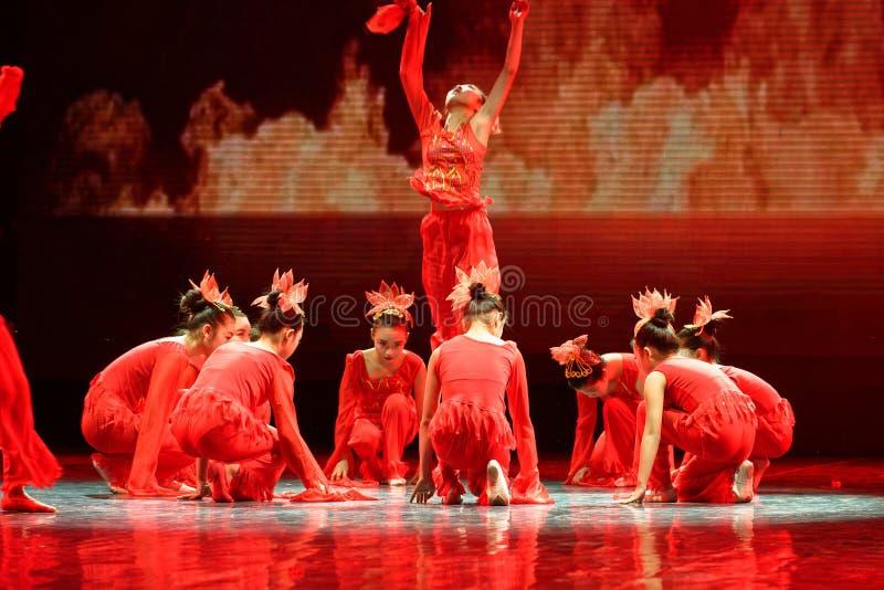 Дух танца ` s детей испытания академии танца Пекина огня сортируя выставки Цзянси достижения выдающего уча стоковая фотография rf