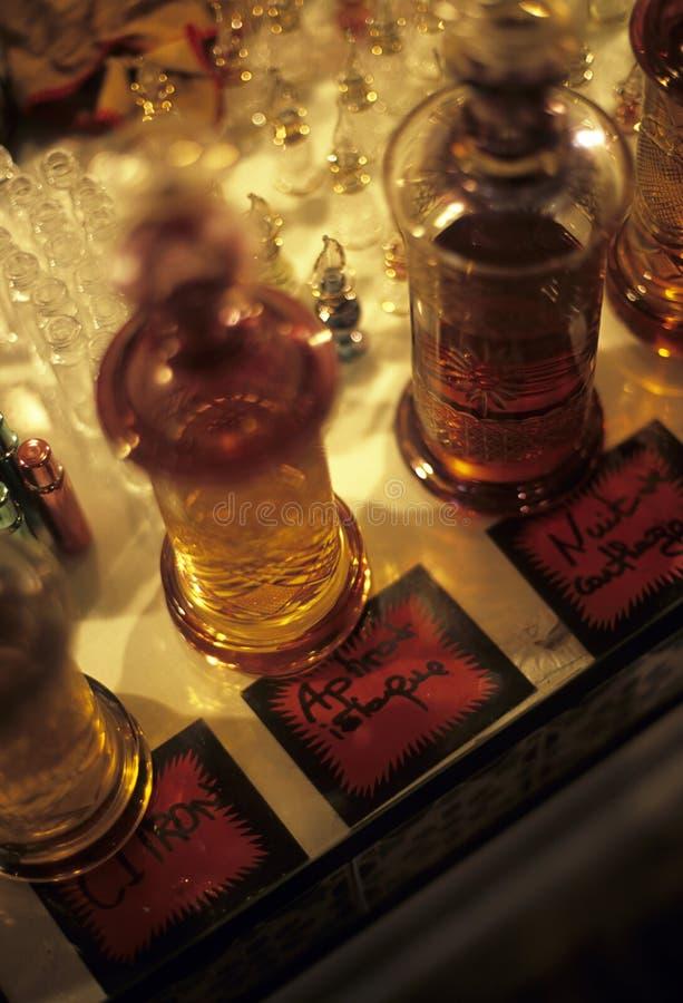 дух Тунис бутылок стоковые фото