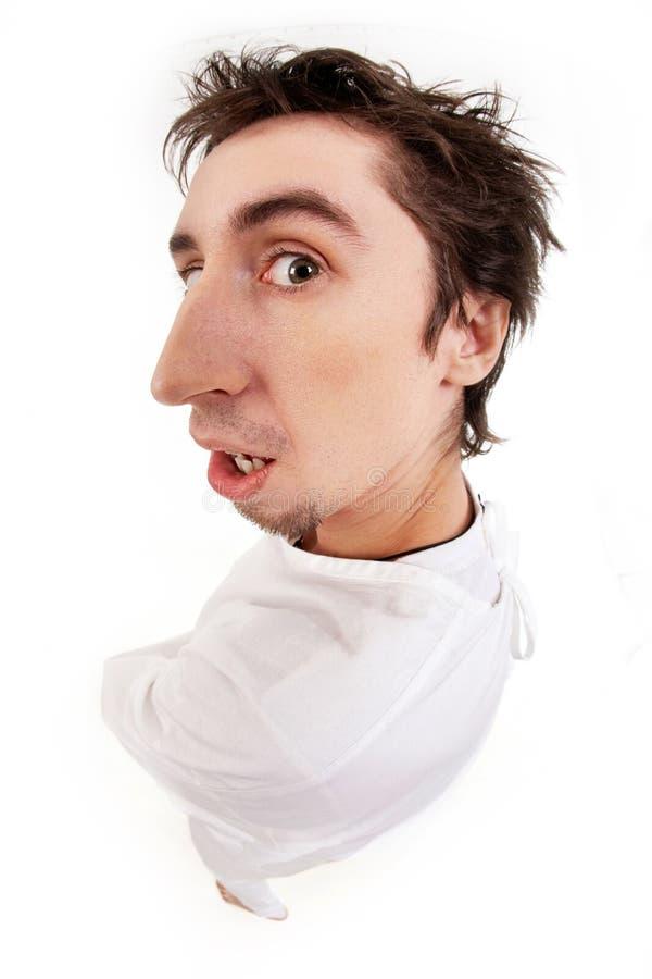 душевнобольной человек Стоковые Фотографии RF