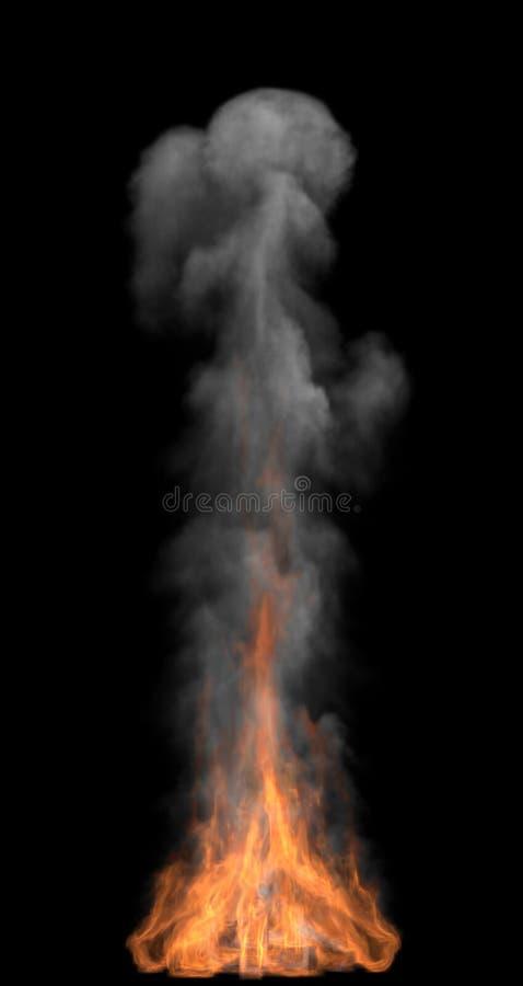 дым пожара стоковые изображения rf