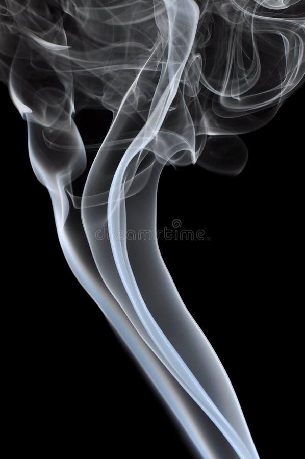 дым предпосылки черный стоковое изображение