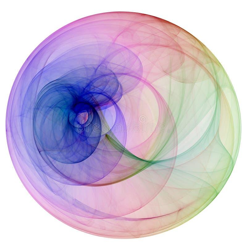дым цвета иллюстрация вектора