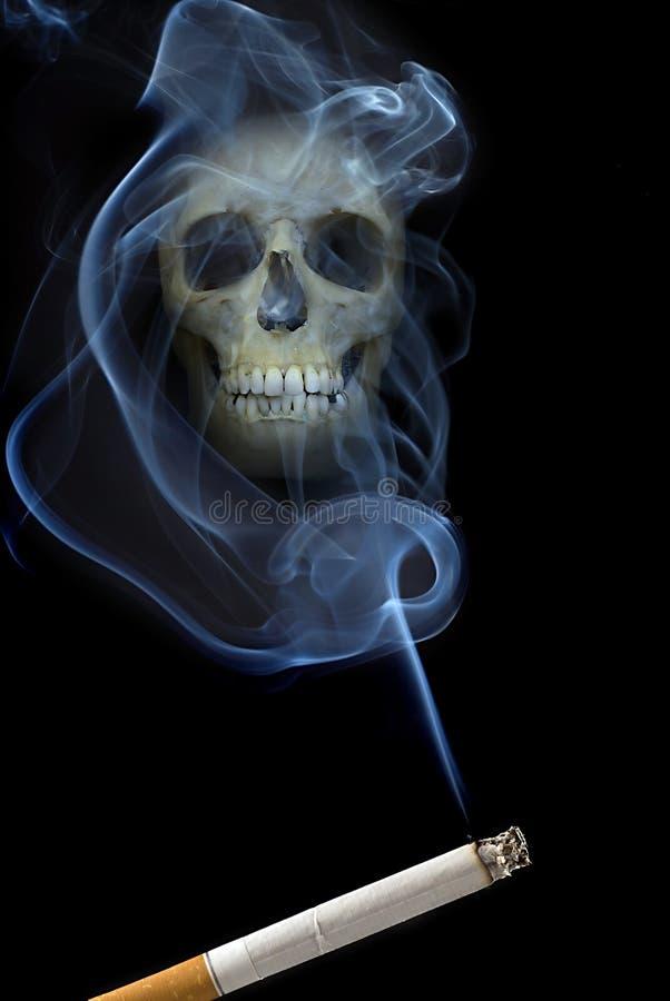 дым scull стоковые изображения