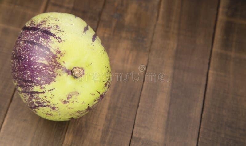 Дыня огурца или сладостное muricatum Solanum стоковые изображения rf