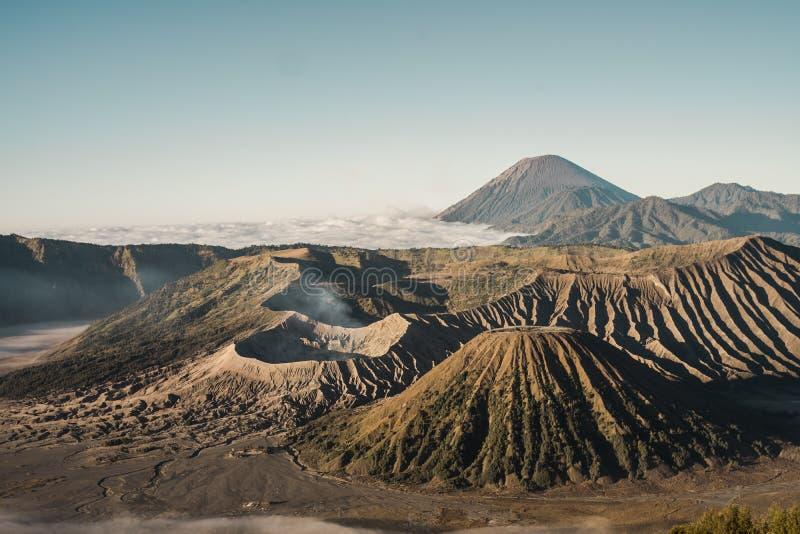 Дыхание горы Bromo стоковые фото