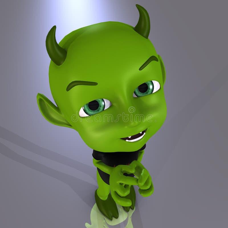 дьявол 08 немногая иллюстрация штока