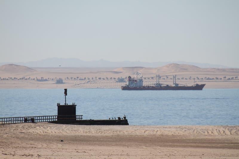 Дюны и море стоковые изображения rf