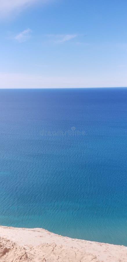 Дюны Мичигана стоковое фото